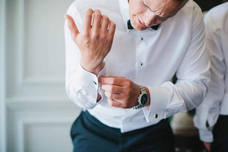 Groom and Cuff Links