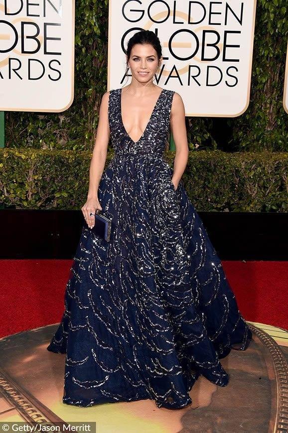 Jenna Dewan-Tatum Golden Globes 2016
