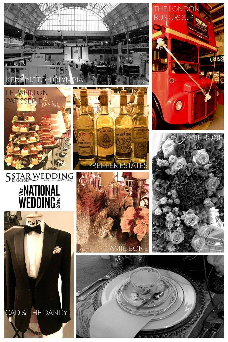 National Wedding Show Highlights Moodboard