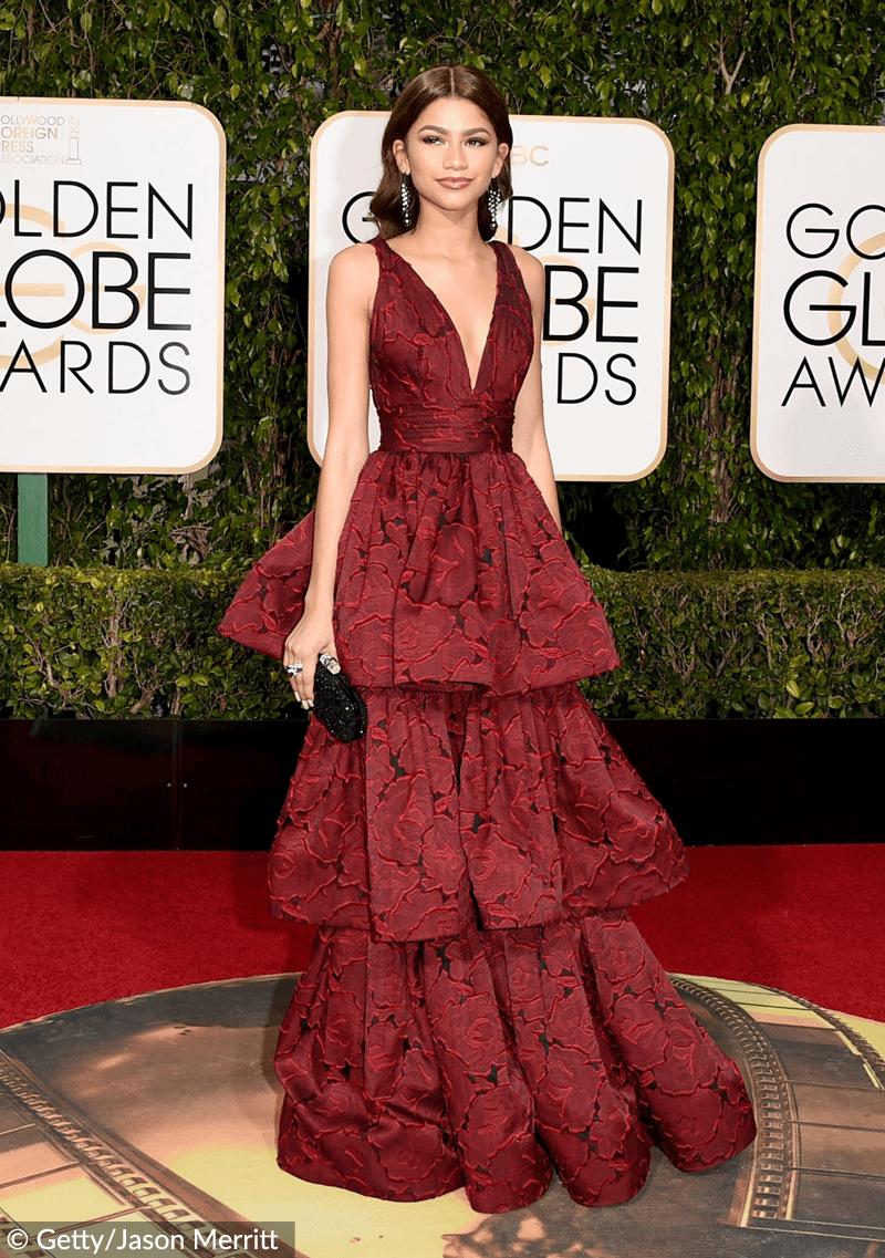 Zendaya Coleman Golden Globes 2016
