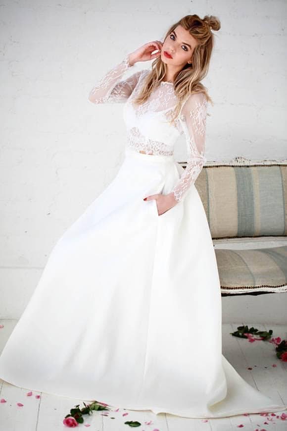 Charlotte Balbier - Tempest Topper Rebel Crop & Cosima Skirt