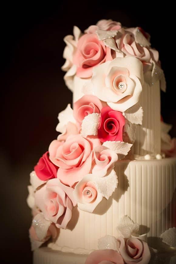 Floral Wedding Cake GC Couture