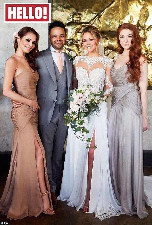 Kimberley Walsh Celebrity Wedding