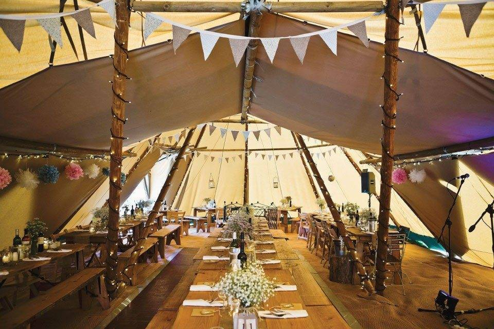 Luxury Wedding Tipi