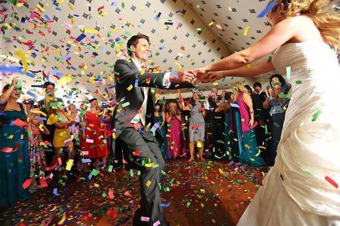 First-dance Confetti
