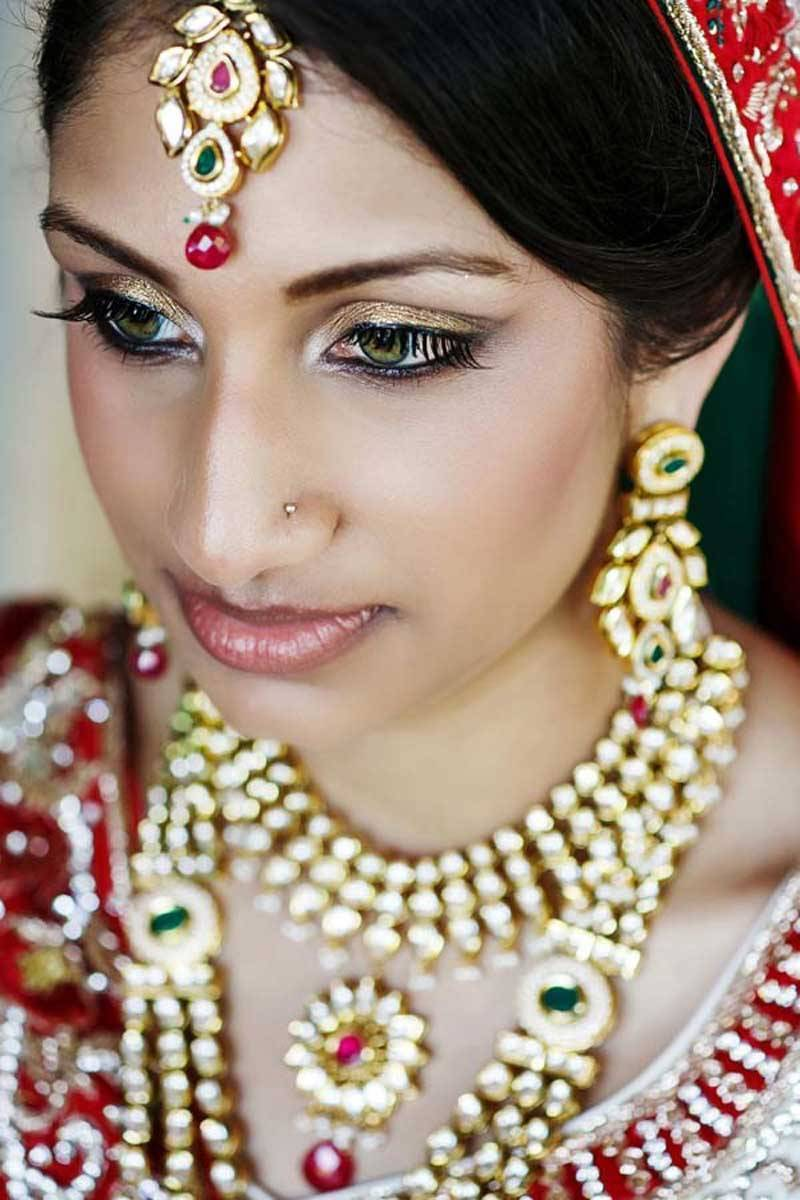 Indian Brides with Make up