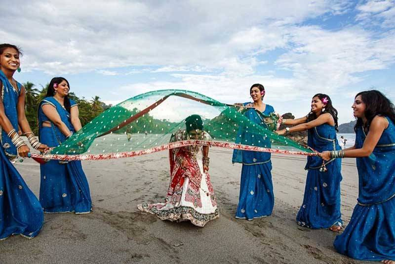 Indian Destination Weddings on the beach