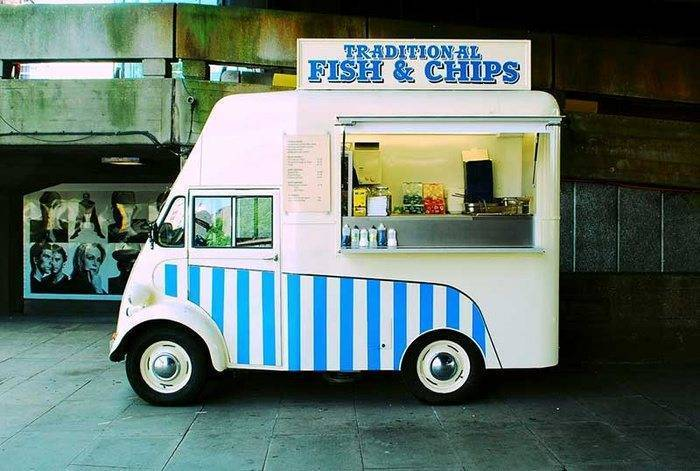 Fish and Chip Van For Wedding