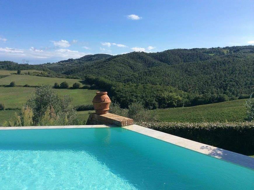 Infinity Pool Tuscany