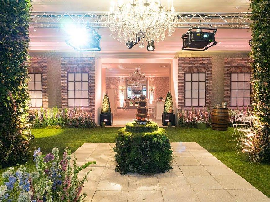 The garden At Home with Bruce Russell at The Savoy