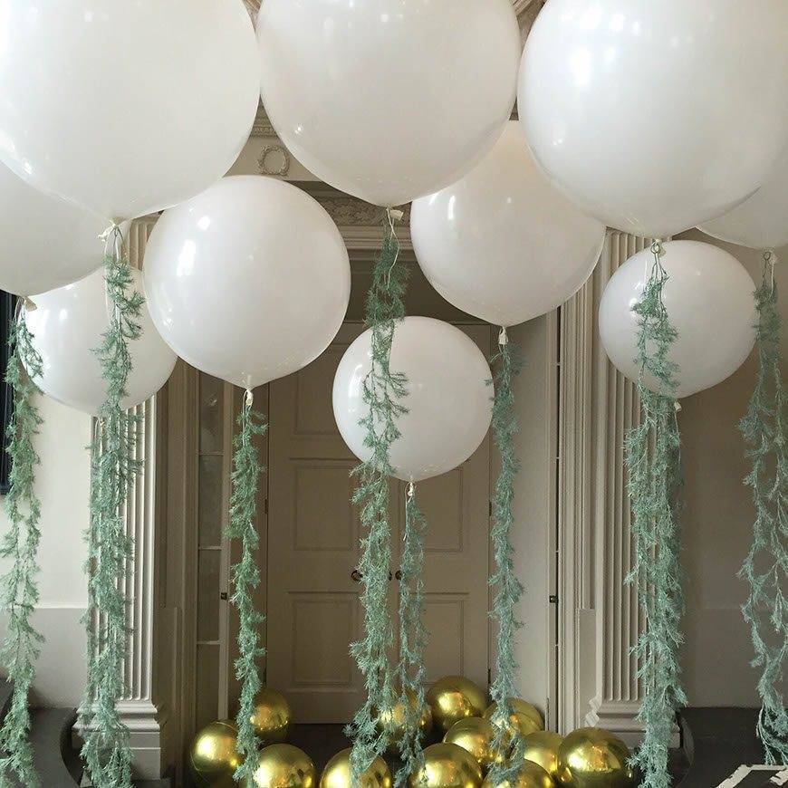 Blow wedding guests away with balloon d cor for Art and decoration