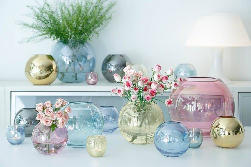 The Wedding Shop Pink Pastel Vases