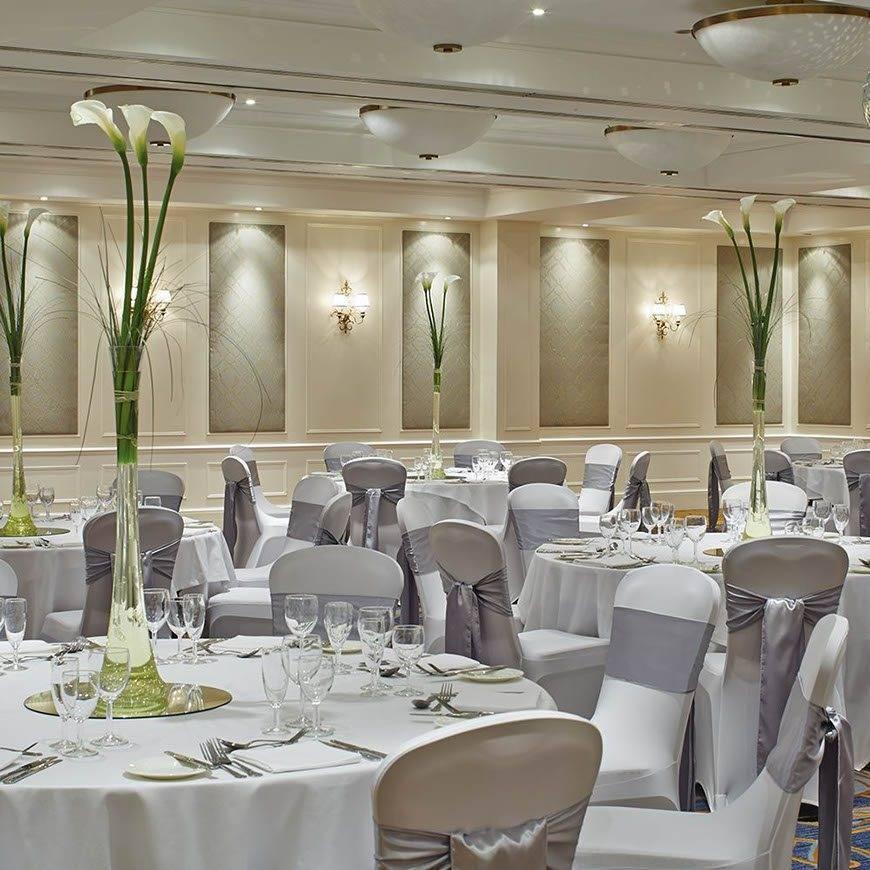 The Bournemouth Marriott Highcliff Hotel Wedding