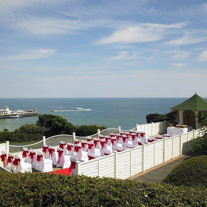 The Bournemouth Highcliff Marriott Hotel Wedding