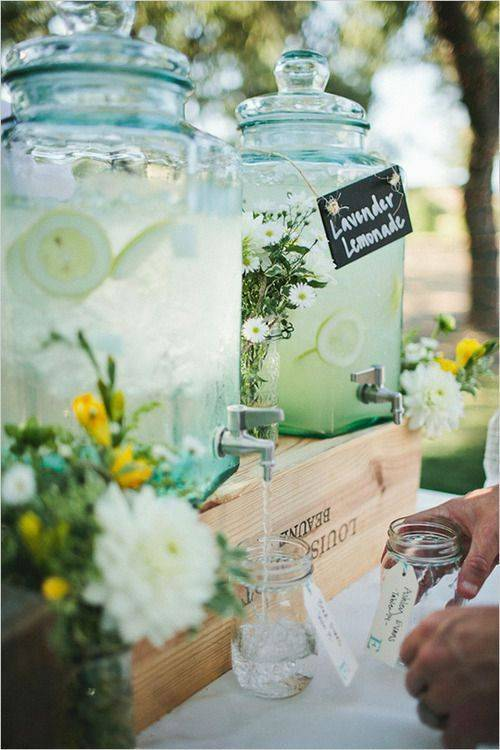 Summer Wedding Drinks