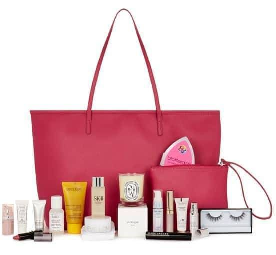 Exclusive Harrods beauty gift worth over £250