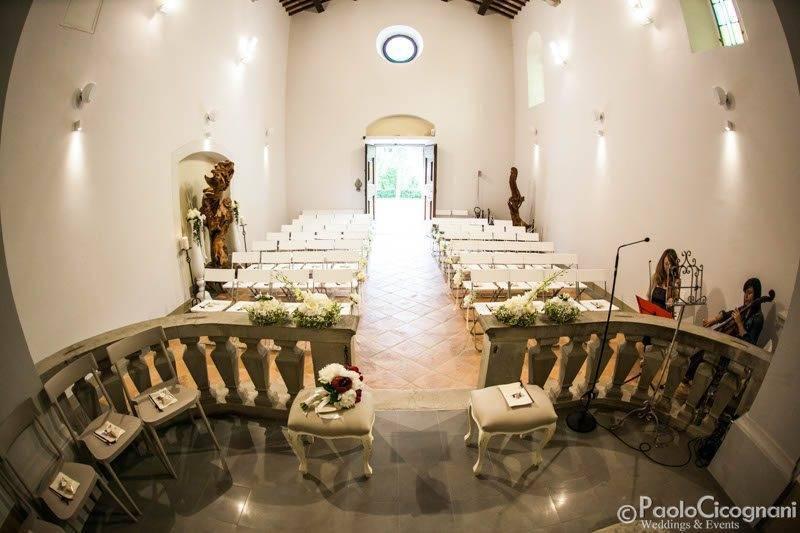 Consecrated Church Italian venue - Top 5 Wedding Venues In Romagna Italy