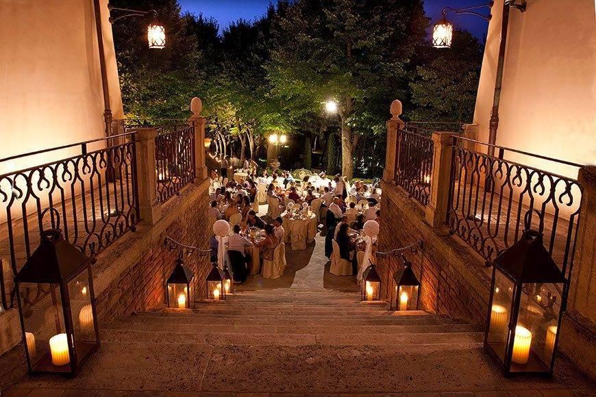 Fine Wedding Reception in Italian Villa 1 - Top 5 Wedding Venues In Romagna Italy