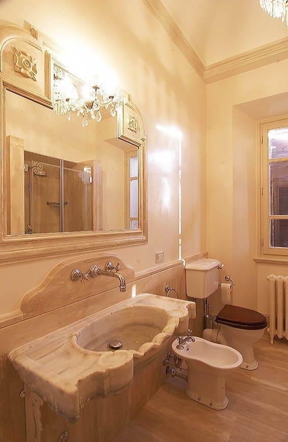 Luxurious Villa bathroom - Top 5 Wedding Venues In Romagna Italy