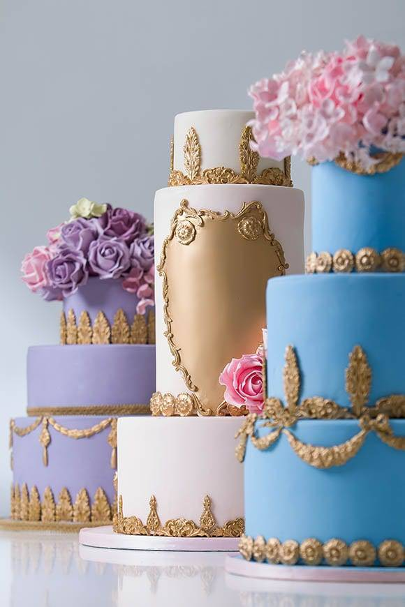 Elizabeth Solaru Wedding Cakes