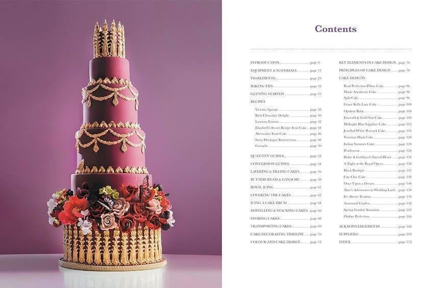 Elizabeth Solaru Wedding Cakes