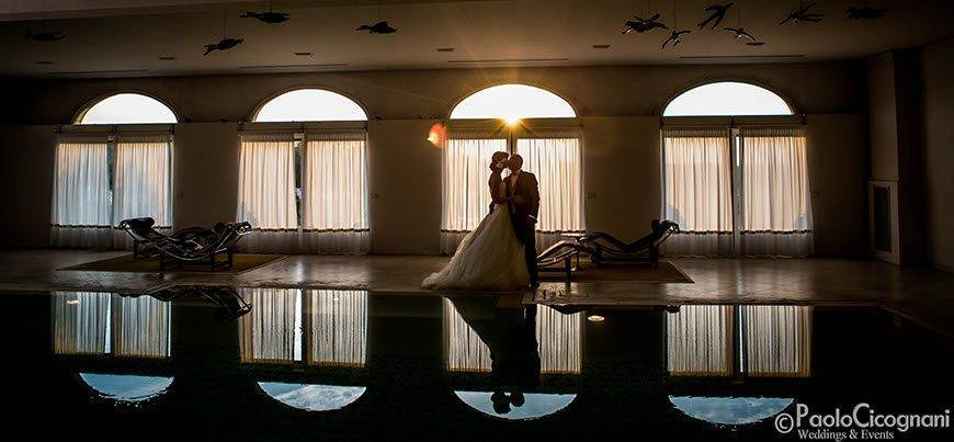Private Villa for a Luxurious Italian Wedding Indoor Pool art photo - Top 5 Wedding Venues In Romagna Italy