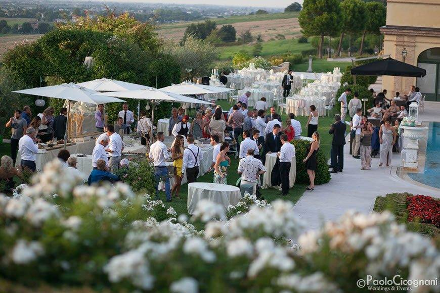 Private Villa for a Luxurious Italian Wedding Luxury Wedding Reception by the pool - Top 5 Wedding Venues In Romagna Italy