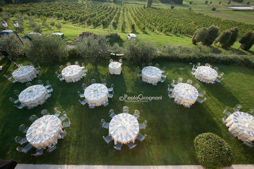 Private Villa for a Luxurious Italian Wedding Wedding Dinner seating chart - Top 5 Wedding Venues In Romagna Italy