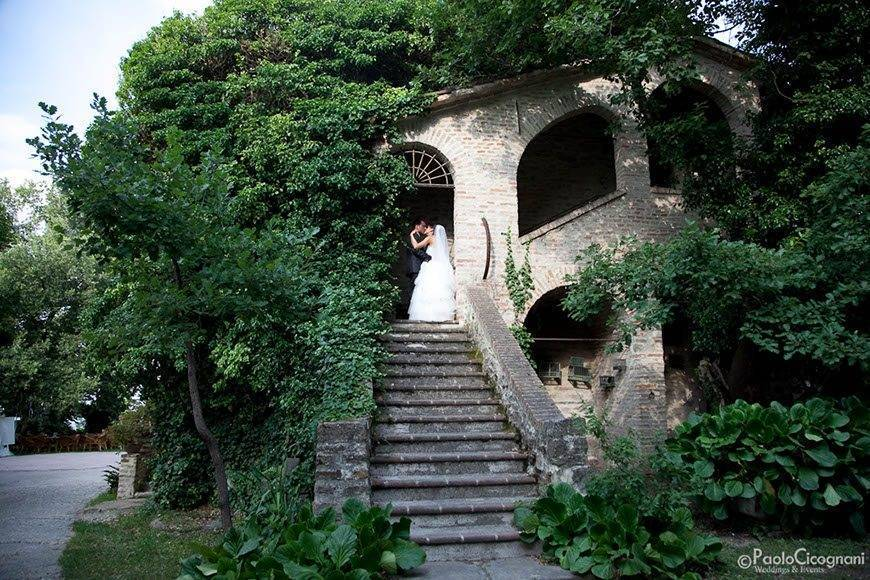 Wedding Couple in Italian Farmhouse - Top 5 Wedding Venues In Romagna Italy