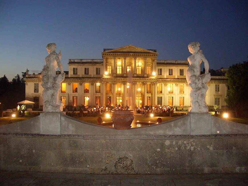 Wedding Villa at night - Top 5 Wedding Venues In Romagna Italy