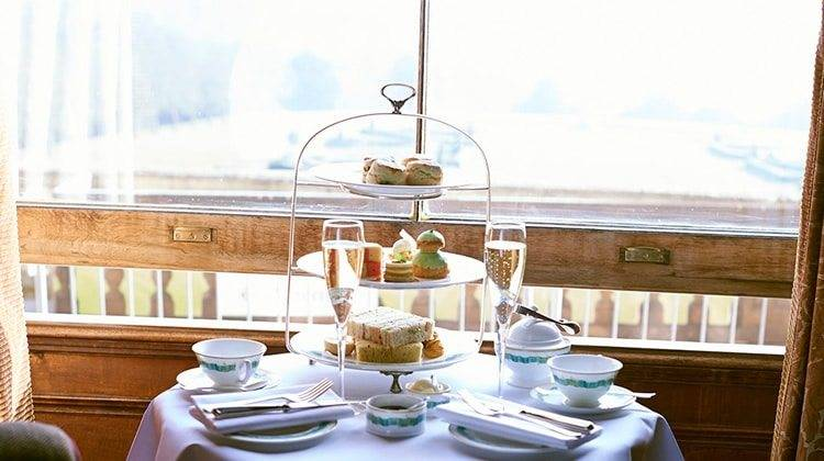 Afternoon Tea At Cliveden Country House Hotel