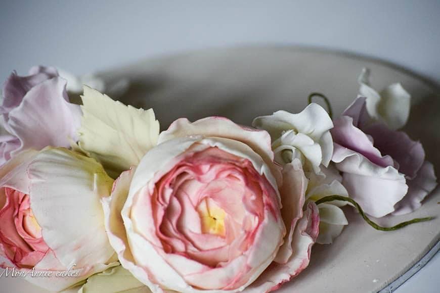 Sugar Flowers - Sweet Pea