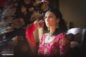 Traditional Indian Wedding Set In Umbria Italy