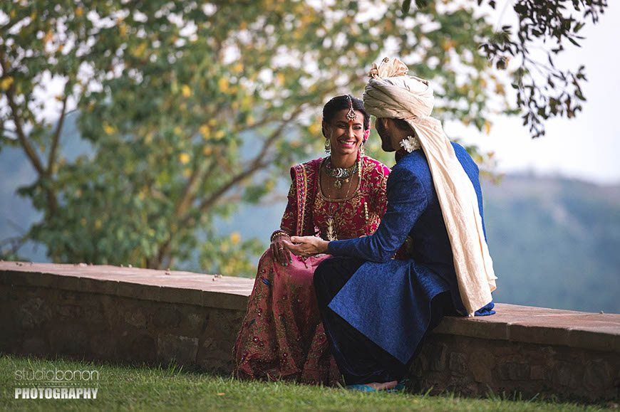 traditional indian wedding set in umbria italy 5 star