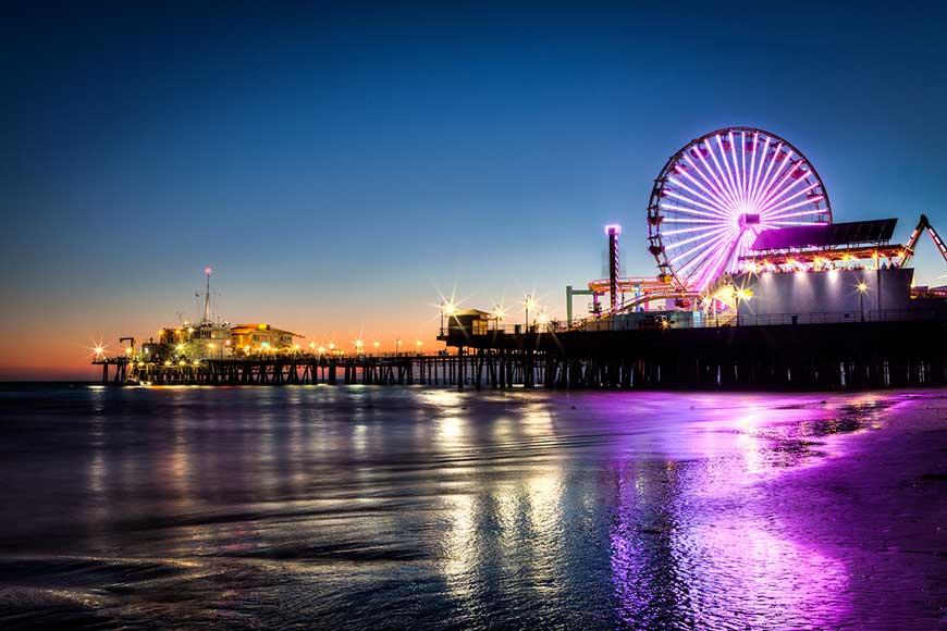 Alik Griffin - Santa Monica Pier