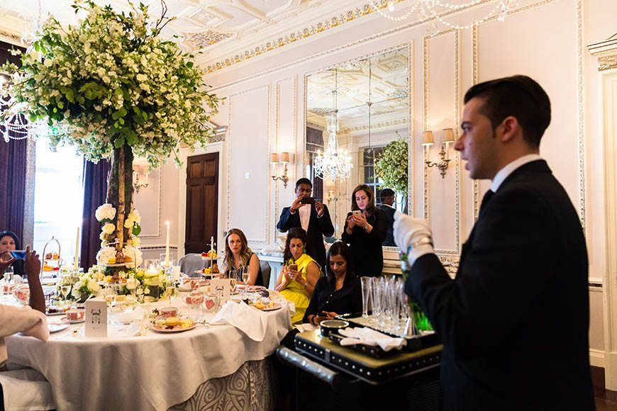 Martini Masterclass Afternoon Tea At The Connaught