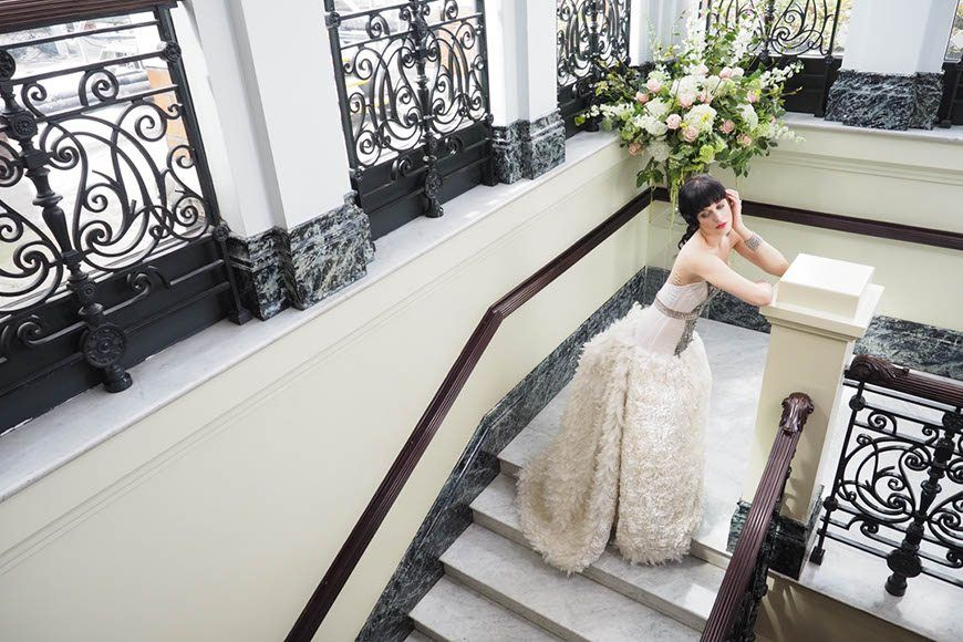 Bride At The Mandarin Oriental