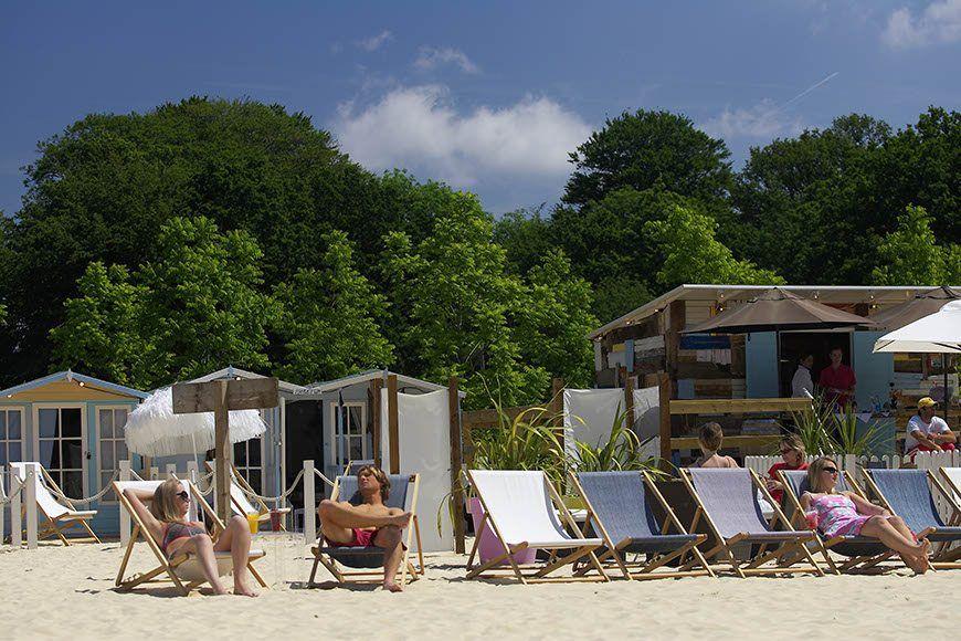 Beach At The Grove