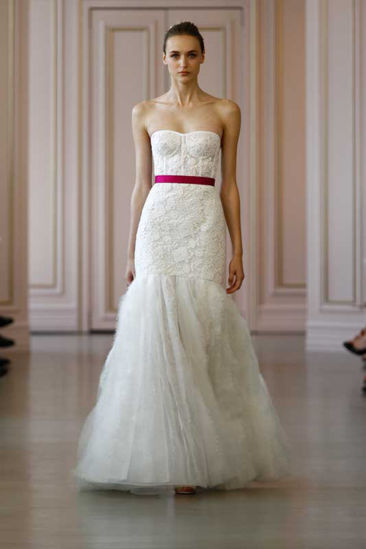 Oscar de la Renta 2016 Spring Bridal Collection 1