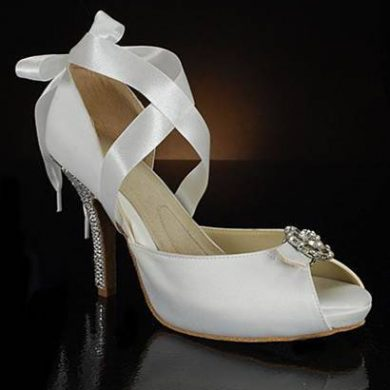The Latest Celebrity Wedding Shoes