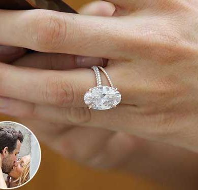 Blake Lively's Engagement Ring! 1