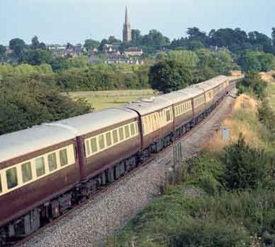 Orient Express Welcomes Northern Belle Train