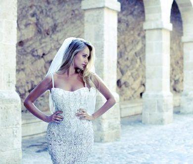 Rebecca Cella Knitted Bride Collection