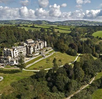 Hire Your Own Castle For Your Wedding At Bovey Castle