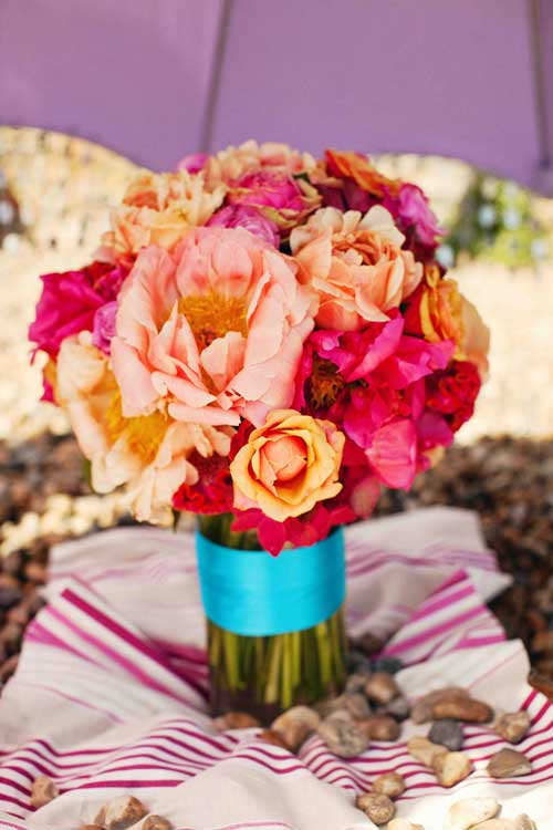How Bold Will You Go On Your Wedding Flowers?