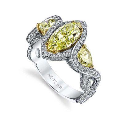 Illuminating Yellow Diamonds By Harry Kotlar