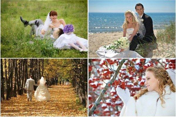 Four spectacular seasons for getting married in Italy
