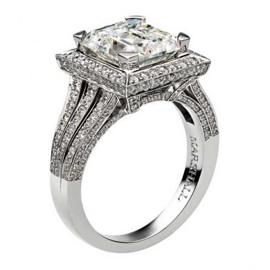 Dazzling Engagement Rings By David Marshall London