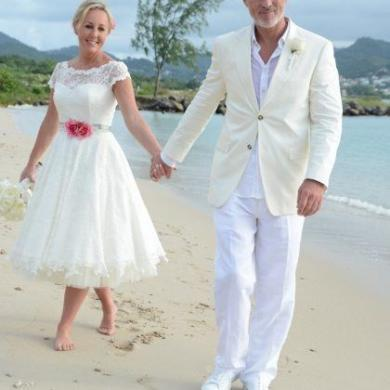 Shirlie + Martin Kemp Renew Their Vows In St Lucia 1