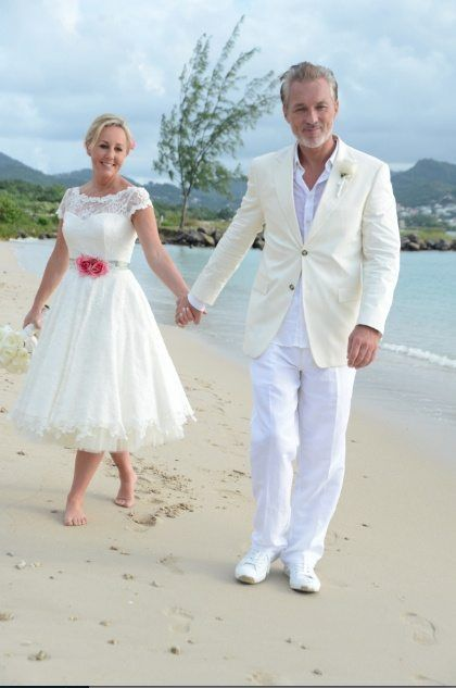 Shirlie Martin Kemp Renew Their Vows In St Lucia